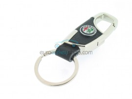 Keyring Alfa Romeo - imitation leather version - with lobster clasp - after market product