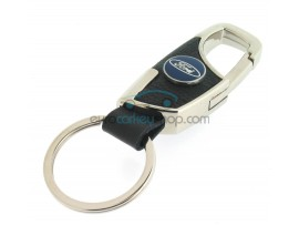 Keyring Ford - imitation leather version - with lobster clasp - after market product