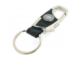 Keyring Mercedes Benz - imitation leather version - with lobster clasp - after market product