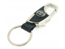 Keyring Toyota - imitation leather version - with lobster clasp - after market product