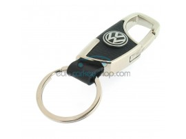 Keyring Volkswagen - imitation leather version - with lobster clasp - after market product
