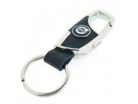 Keyring Volvo - imitation leather version - with lobster clasp - after market product