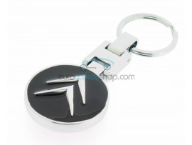 Citroën Keyring - luxury version - with logo on both sides - after market product