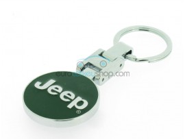 Jeep Keyring - luxury version - with logo on both sides - after market product