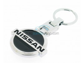 Nissan Keyring - luxury version - with logo on both sides - after market product