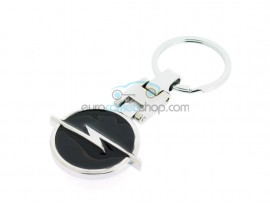 Opel Keyring - luxury version - with black surface - with logo on both sides - after market product