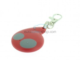 Cobra 2 Button Remote Key Case for Delta Electronia car alarm system 0678 model 7777 - Color Red - after market product