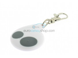 Cobra 2 Button Remote Key Case for Delta Electronia car alarm system 0678 model 7777 - Color White - after market product