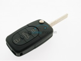 3 Button Flip Remote Key Case for Audi - Key Blade HU66 - after market product