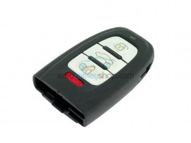 Smart Key Fob for Audi - 3 Buttons and Panic Button - without Batterieholder and Emergency key - after market product