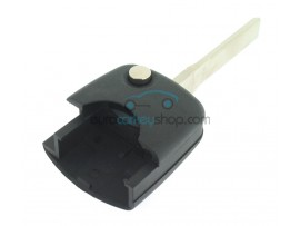 Audi key flip part incl. ID48 transponder chip for 2 and 3 button flip remote key - after market product