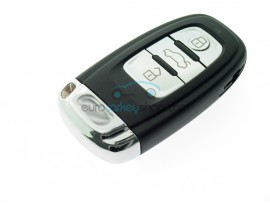 3 Button Smart Key Fob for Audi - including Emergency key - after market product
