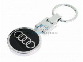 Audi Keyring - luxury version - with logo on both sides - after market product