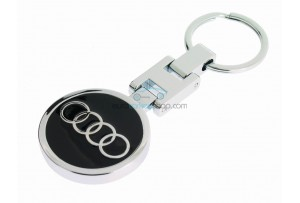 Audi Keyring - Luxery version  - with logo on both sides - after market product