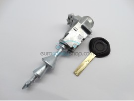 Left door lock with key for BMW 3-Series (before 2008) - Key Blade HU92 - after market product