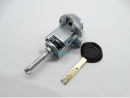 Right door lock with key for BMW E46 - Key Blade HU92 - after market product