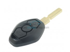 BMW 3 button Remote Key Case - 3 Series - 5 Series - 7 Series - X5 - Z3 - Key Blade HU58 - after market product