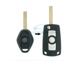 BMW 3 Button Flip Remote Key Case for BMW103 - Key Blade HU92R - after market product