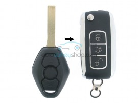 BMW Remote Key 3 buttons - 434 Mhz - PCF7935 Chip - Key Blade HU92R - after market product