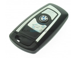 BMW Smart Key Case - 3 Buttons - for F serie - High quality - chrome striping - after market product