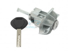 Left door lock with key for BMW E46 - Key Blade HU92 - after market product