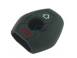 Key case BMW  - 3 button- material Soft Rubber- Color Black - for articlenr BMW103-BMW104 - after market product