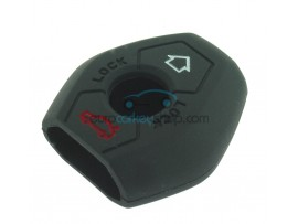 Key Cover BMW - 3 button- material Soft Rubber- Color Black - for articlenr BMW103-BMW104 - after market product