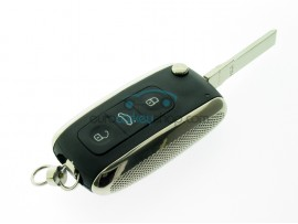 Bentley 3 Button Flip Remote Key Case - Key blade HU66 - after market product