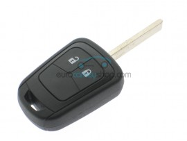 Chevrolet 2 button key fob case - key blade HU100 - after market product