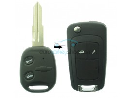 Chevrolet 2 Button Remote Flip Key Fob Case for item number CHE110B after market product
