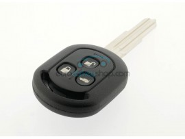 Chevrolet 3 button Remote Key Case - Key Blade DWO4R - cutter groove right - after market product