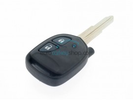 Chevrolet Spark 2 Button Remote Key - for Spark 2009-2013 - 433 Mhz - Key Blade DWO4 - OEM product