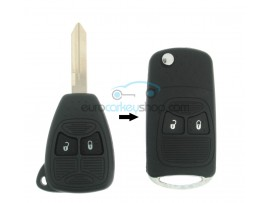 Jeep 2 Button Remote Flip Key Fob Case for item number JEE104B - after market product