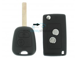 Citroen conversion kit to flip key for CIT102 - key blade HU83 - after market product