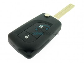Chevrolet Aveo 2 button Remote Key - 434 Mhz - Key Blade DWO4R - cutter groove right - after market product