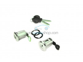 Complete set doorlocks with 2 keys for Citroën Berlingo (RH-LH) - keyblade SX9- OEM product