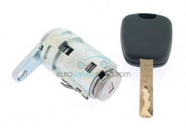 Citroen left door lock - key blade VA2 - after market product