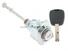 Citroen C5 left door lock - key blade VA2 - after market product