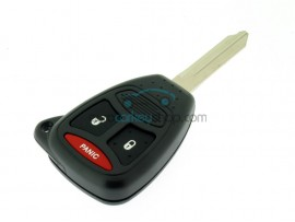 Dodge 3 Button Key Fob Remote Case - including buttons - Key Blade Y160 - after market product
