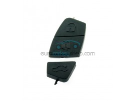 Fiat pushbuttons for FIA114 and FIA123 - 3rd button small(17x2mm) - color black - after market product