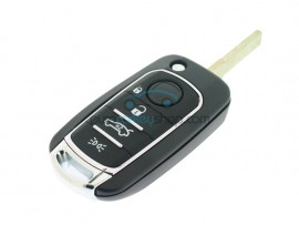 Fiat 4 Button Flip Remote Key Case - after market product