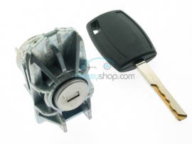 Ford complete leftdoor barrel lock set with 1 key for Ford Focus - key blade HU101 - after market product