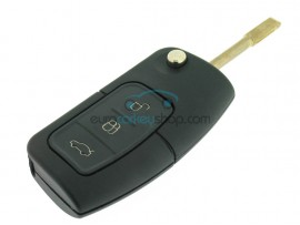 3 Button Flip Remote Key for Ford B-Max - C-Max - Ecosport - Fiesta - Focus - Galaxy - Mondeo - S-Max - Transit Courier - after market product