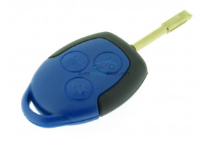 Ford 3 Button Remote Key Fob Case - Keyblade FO21 - for Transit a.o.
