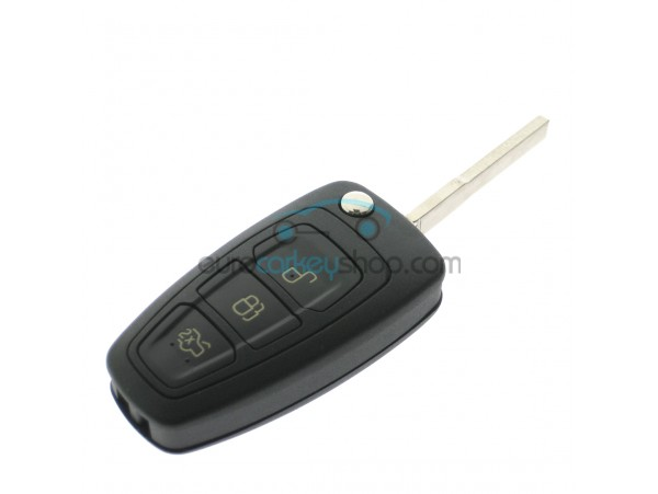 Frd129 Ford 3 On Flip Remote Key With Straight Blade Color Logo Blue A7827 600x451 W 40 Middle Jpg