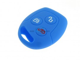 Key case Ford - 3 button- material Soft Rubber- Color Darkblue - after market product