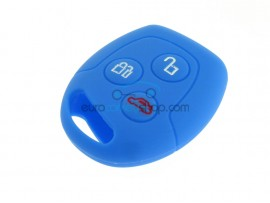 Key Cover Ford - 3 button- material Soft Rubber- Color Darkblue - after market product