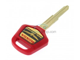 Honda Motorbike Key - Red- key blade HON70 - after market product