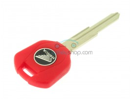 Honda Motorbike Key - Red - ID46 Transponder - Key blade HON70 - after market product