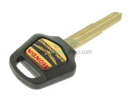 Honda Motorbike Key - ID46 Transponder - Key blade HON58R - Gold color logo - after market product